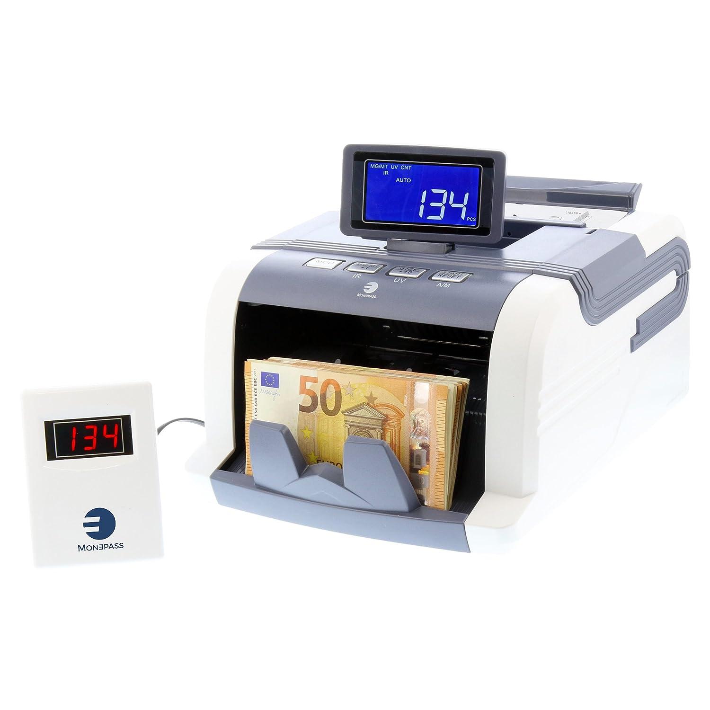 monepass 1188//_ W compteuse di banconote Quadruple rilevamento banconote false UV//MG//MT//IR con tecnologia 2d