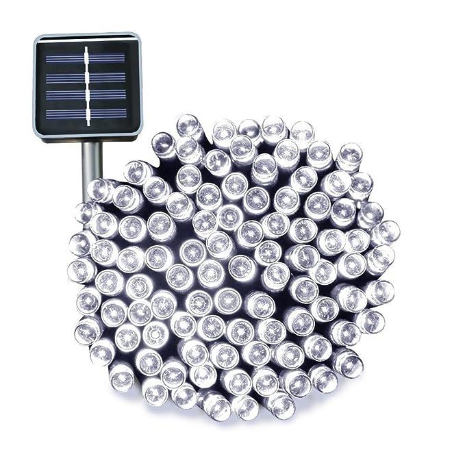 50 opinioni per Esky® Luce Stringa LED per Esterni ad Energia Solare, 17m 100 Luci LED Solari