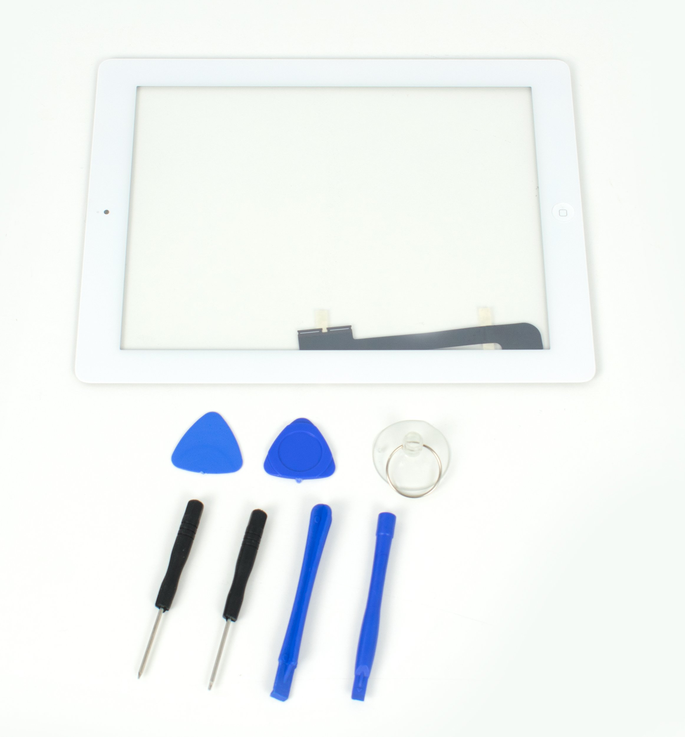 VIVO Touch Screen Digitizer Assembly- White, A1416, A1403, A1458, A1459, A1460 for Apple iPad 3/4
