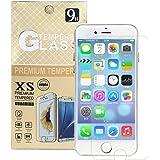 DICE iPhone SE ガラスフィルム iPhone 5s ガラスフィルム 保護フィルム 強化ガラス 超高硬度9H 極薄0.26㎜ フィルム 液晶保護 ドライウェットクロス付き (iPhone 5s/SE 4インチ)