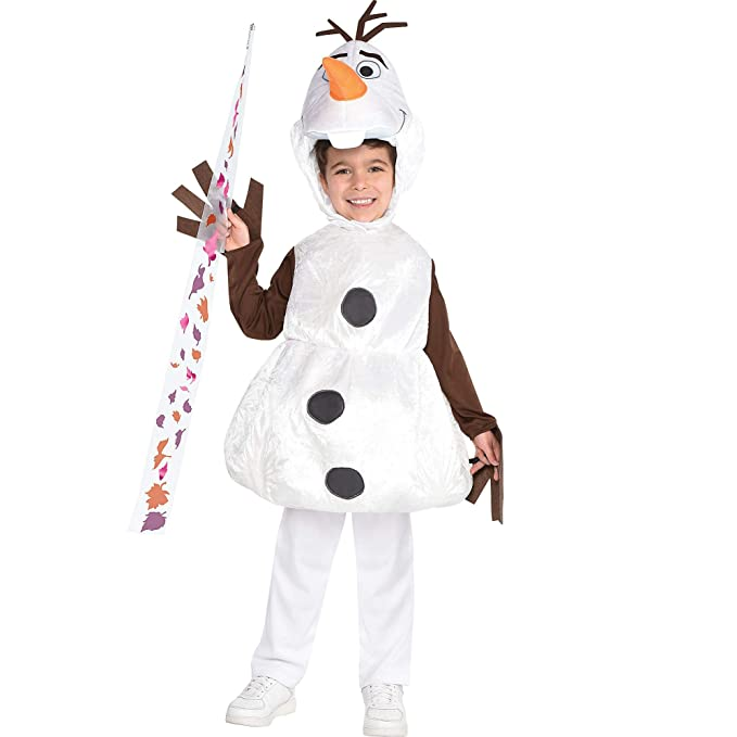 Amazon.com: Party City Olaf Disfraz de Halloween para niños ...