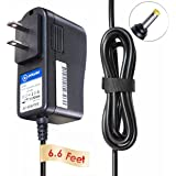 T-Power (6.6ft Long Cable) Ac Dc adapter for Logitech Multimedia Speakers Z200 with Stereo Sound for Multiple Devices Charger Power Supply Cord