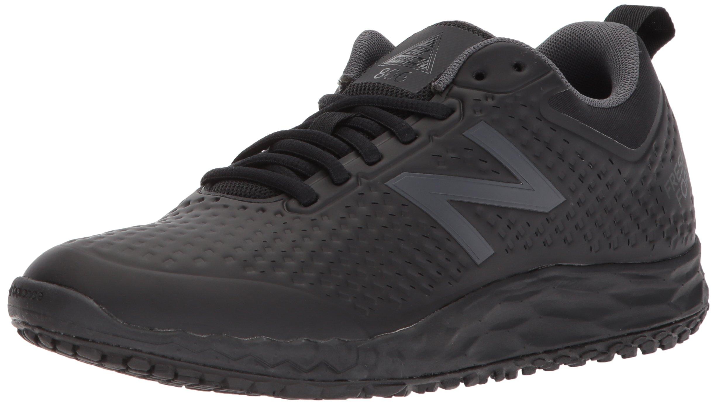 New Balance Women's 806v1 Work Training Shoe, Black, 10 D US
