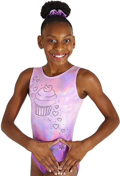 4ef8f575ffc8 Amazon.com   Snowflake Designs Cupcake Gymnastics or Dance Leotard ...