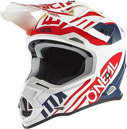M ONeal 2 Series Slingshot Youth Kinder Motocross Enduro MTB Helm blau//schwarz//wei/ß 2018 Oneal 51//52 cm Gr/ö/ße
