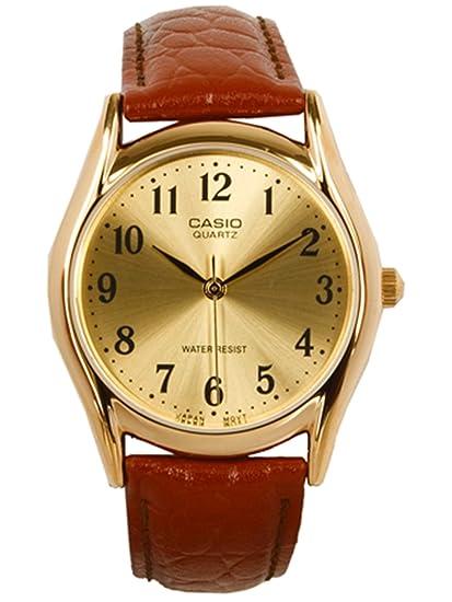 CASIO Reloj con Movimiento Cuarzo MTP-1094Q-9B: Casio: Amazon.es: Relojes