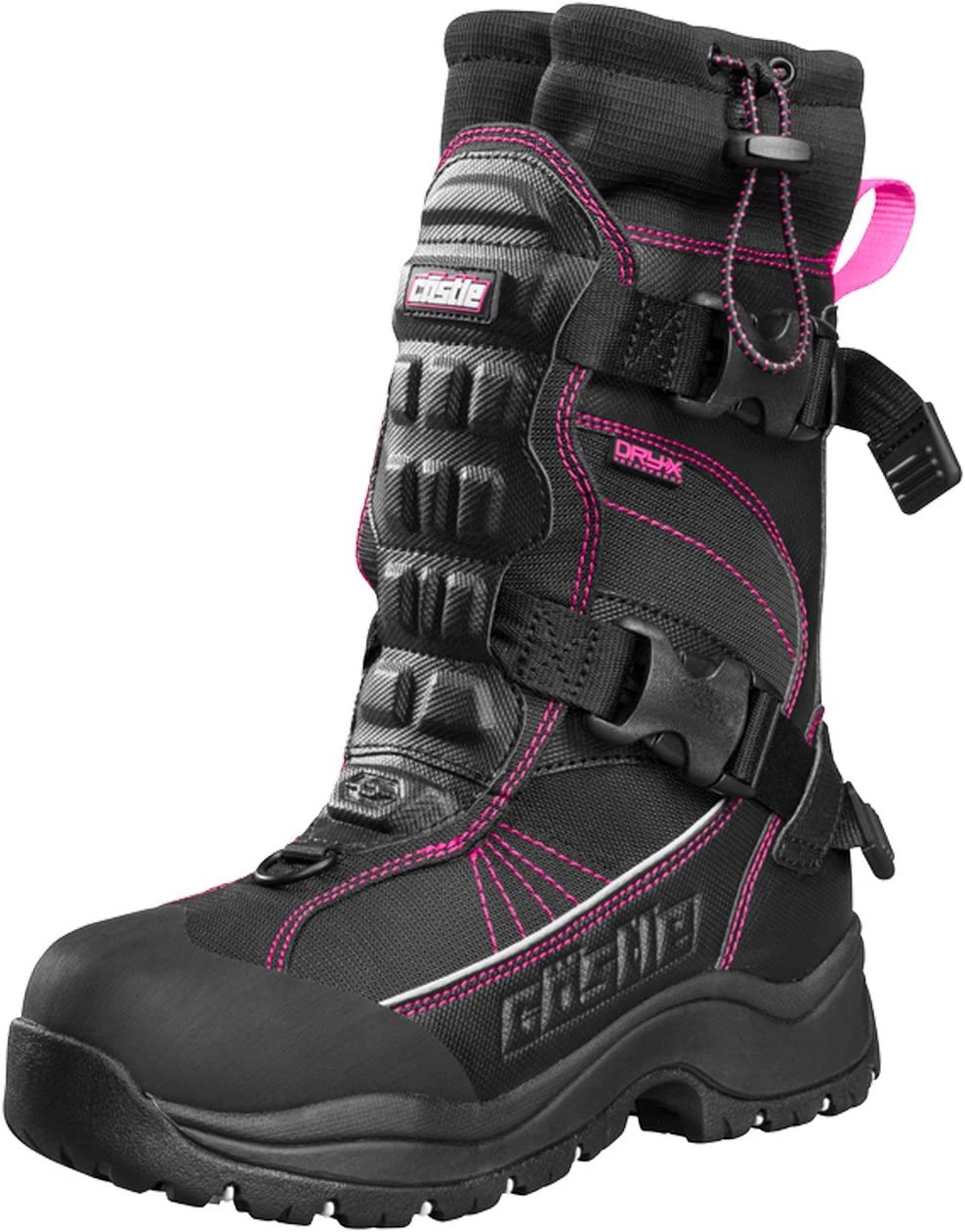 Castle X Barrier 2 Womens Snowmobile Boot White SZ 10