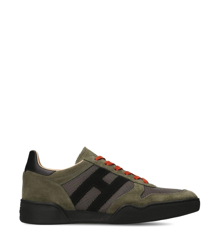8f0ab75fa540d Hogan Men's Green Suede Sneakers - HXM3570AC40IPJ558L nscdbq5862 ...