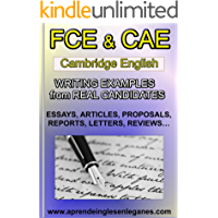 FCE & CAE Writing Examples from Real Candidates