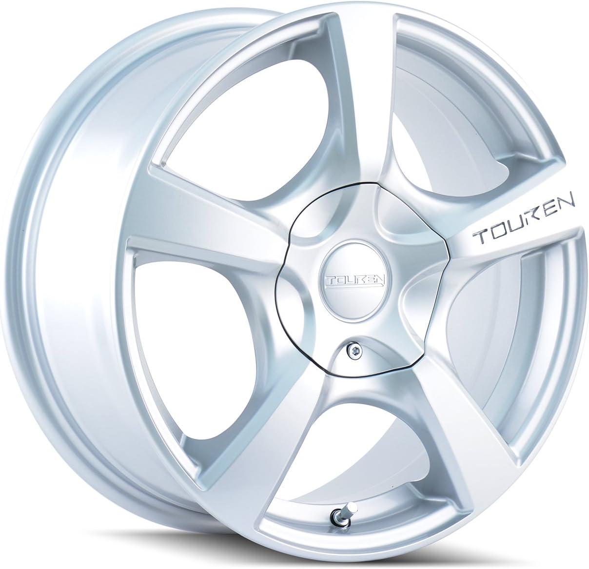 17 x 7. inches //5 x 105 mm, 42 mm Offset BLACK Wheel with Matte TOUREN TR9 3190