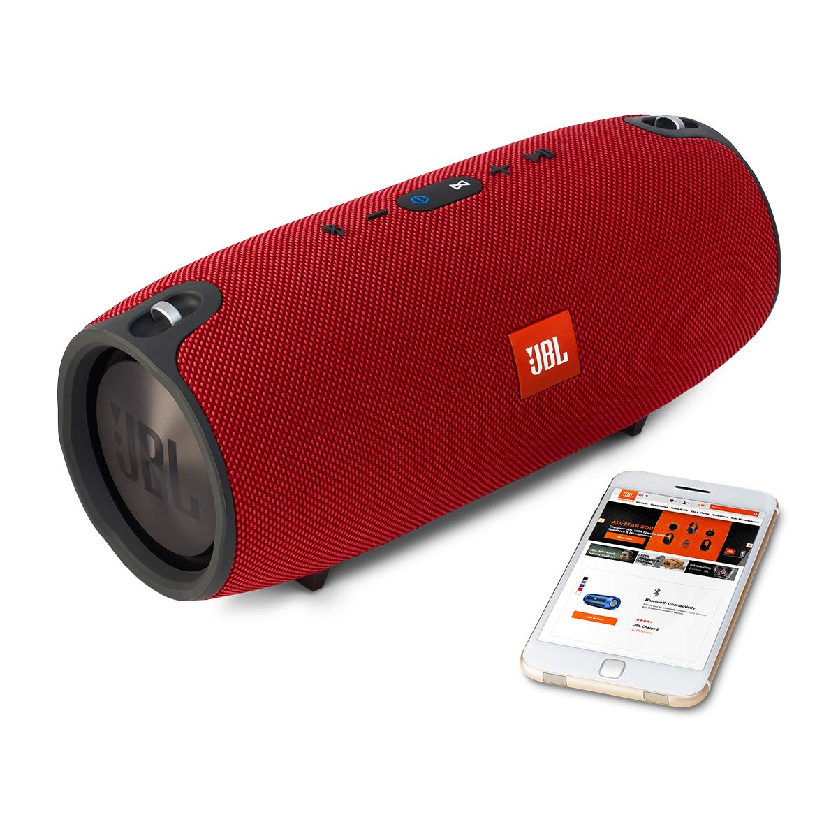 JBL Xtreme Portable Wireless Bluetooth Speaker (Red) Getting Fit JBLXTREMEREDUS