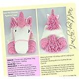 Suki The Unicorn Pyjama Case Knitting Pattern