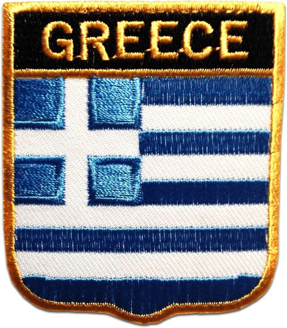 Aufnäher // Bügelbild Frankreich Flagge Fahne 6,3 x 7,5 cm blau