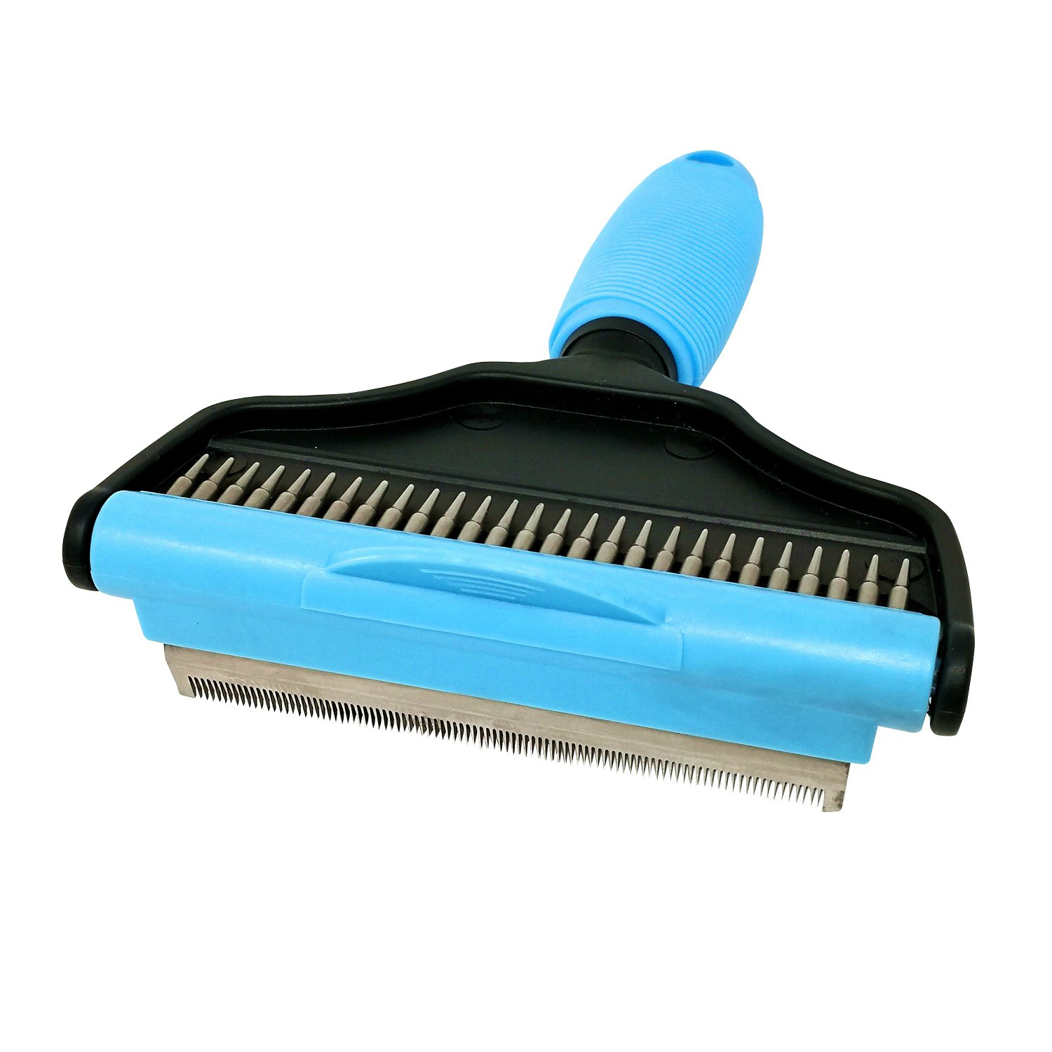 2 in 1 Pet Grooming Supplies Dog & Cat Slicker Brush Deshedding Tools for Small, Medium & Large Dogs & Cats with Short to Long Hair