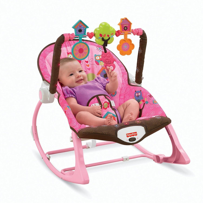 Amazon Fisher Price Infant to Toddler Rocker Pink Amazon