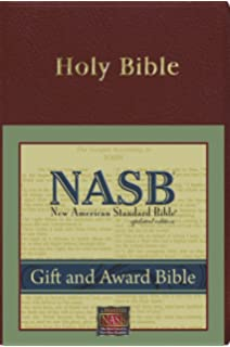 Amazon giant print reference bible new american standard gift and award bible nasb negle Choice Image