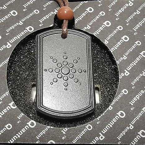 Kintaz Special Quantum Colgante de piedra volcánica con ...