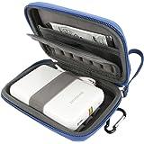 Khanka Portatile Custodia da viaggio Memorizzazione per Polaroid ZIP Stampante Portatile Zero Ink Printing - Blu