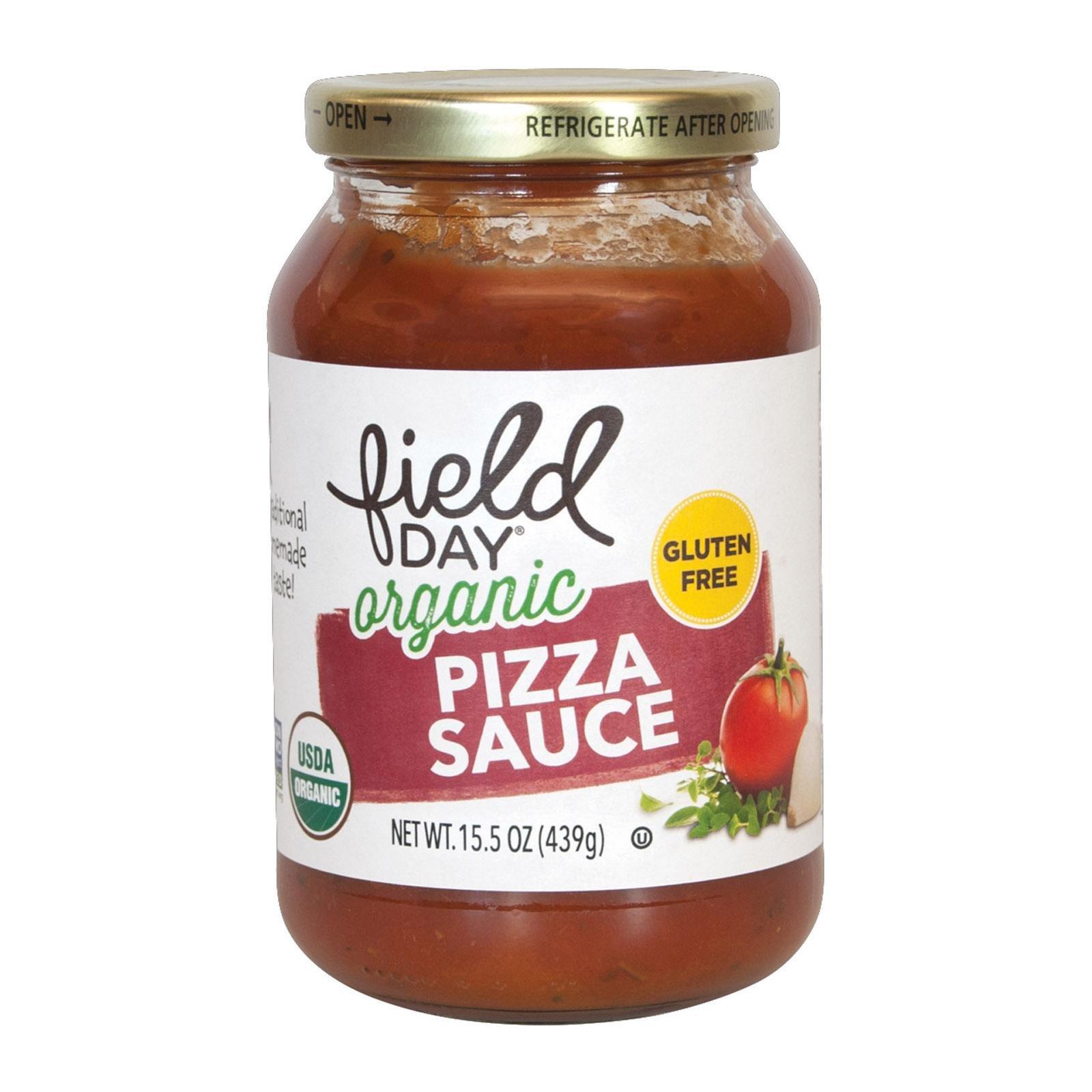Field Day Organic Pizza Sauce, 15.5 Ounce