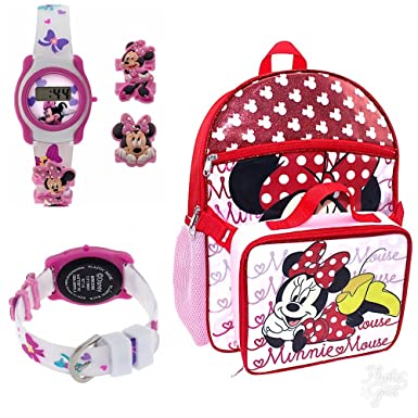 5a1b6ba0d31 Disney Minnie Mouse Back to School Backpack Set with Backpack