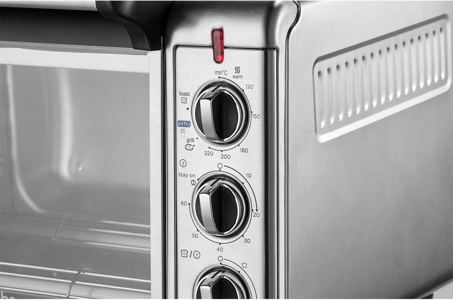 1500 W 12.6 liters Russell Hobbs 26095 Mini Oven Stainless Steel