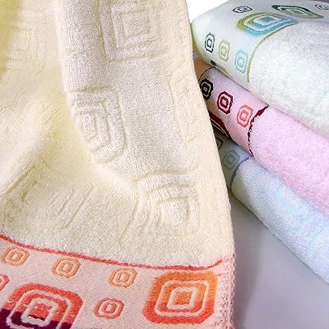 La fibra de bambú y algodón extra-absorbente juego de toallas de baño 1 Beige
