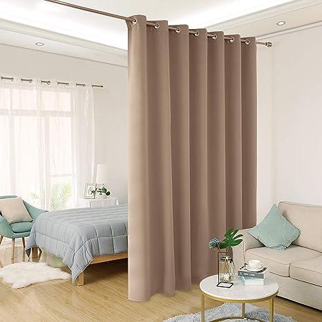 Amazoncom Deconovo Thermal Insulated Patio Door Curtain Panel Wide
