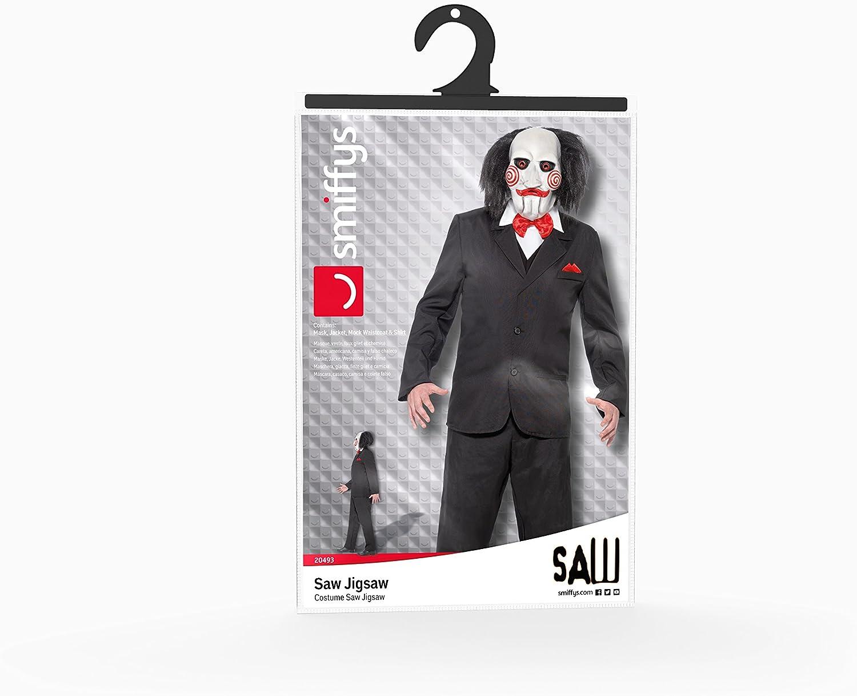 Smiffys Smiffys-20493XL Licenciado Oficialmente Disfraz de Saw ...
