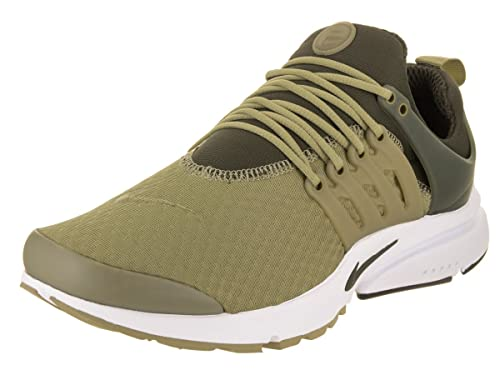 6a74600cf8b7a Nike Men s Air Presto Essential Neutral Olive Cargo Khaki Ankle-High Mesh  Basketball Shoe