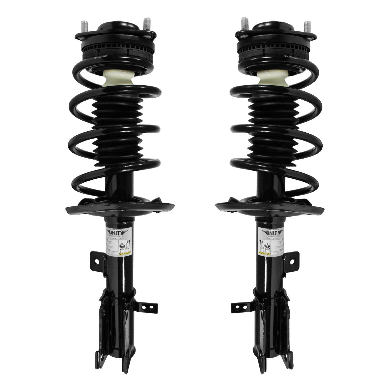 Unity 2-11675-11676-001 Front 2 Wheel Complete Strut Assembly Kit