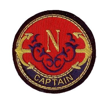 Hand Embroidered Heraldic Blazer Badge Crest With Gold