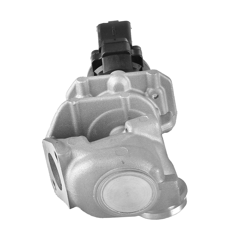 Mophorn Valvola EGR per Ricircolo Gas di Scarico 1618Nr con Guarnizioni per Pe-u-geot 206 207 307 308 407 1007 5008 Expert Partner 1.6 Hdi