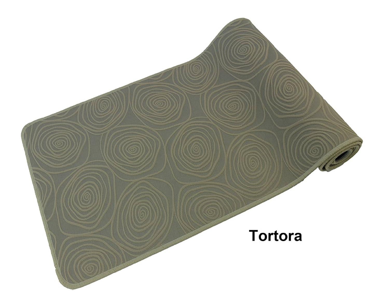 CASA TESSILE Spiral Liscio tappeto cucina largo 68 cm. - GRIGIO, 80 cm. Px