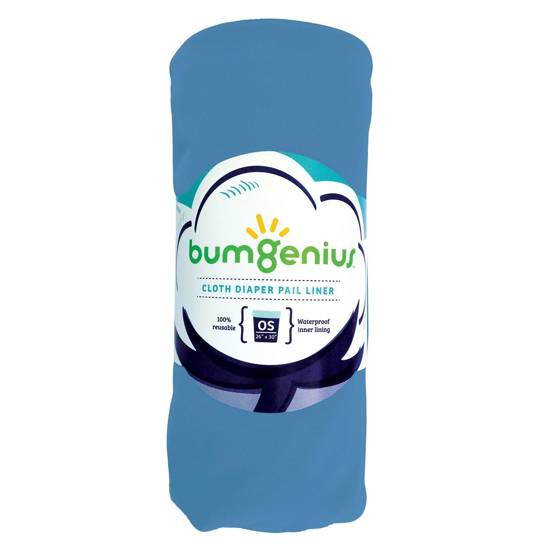 bumGenius Reusable Diaper Pail Liner - 26 x 30 - Fits Most Pails (Stellar) Cotton Babies