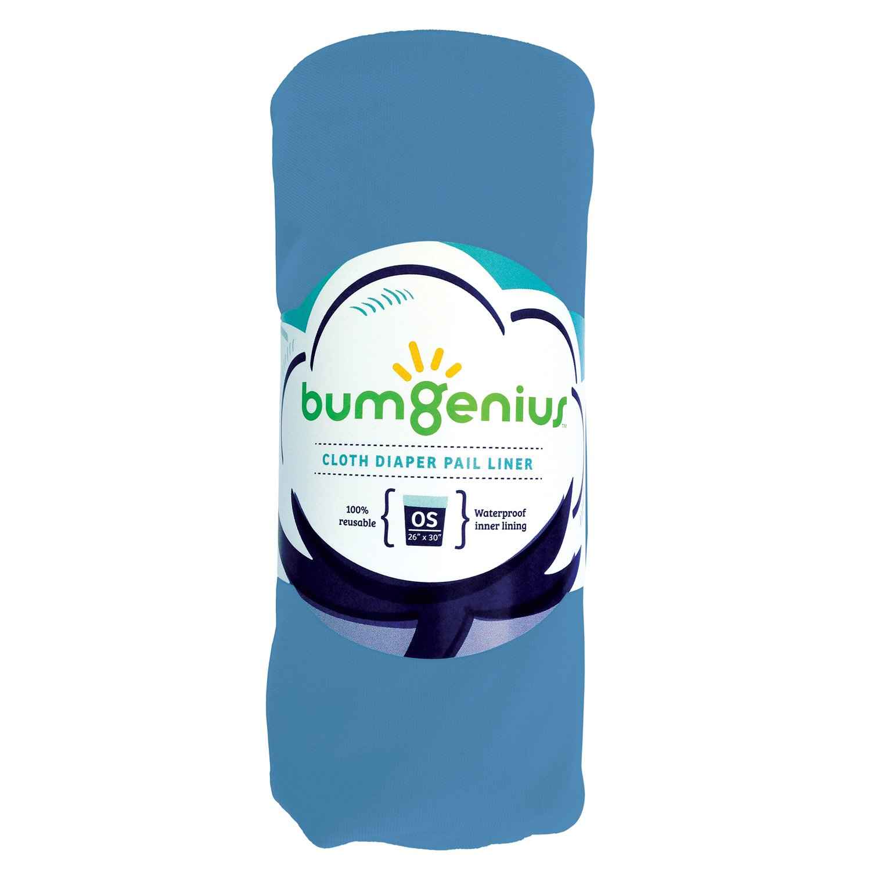 bumGenius Reusable Diaper Pail Liner - 26 x 30 - Fits Most Pails (Moonbeam) by bumGenius