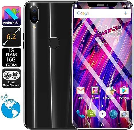 Gaddrt ZG - Smartphone Libre de 2 núcleos (156 x 74,5 x 7,5 mm ...