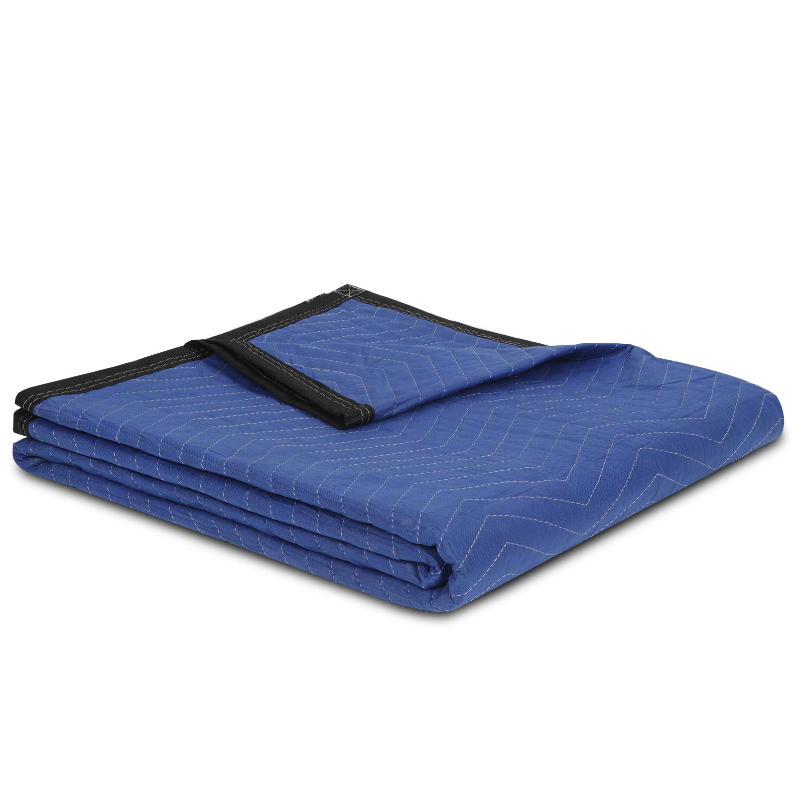 """F2C Mover Moving Blankets Pro Economy Thick 80""""x 72"""" Moving Packing Blankets Skins Pack of 12 Total 35Lbs/ Doz, Blue by F2C (Image #4)"""