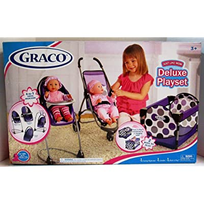 Graco Just Like Mom Deluxe Playset: Toys & Games