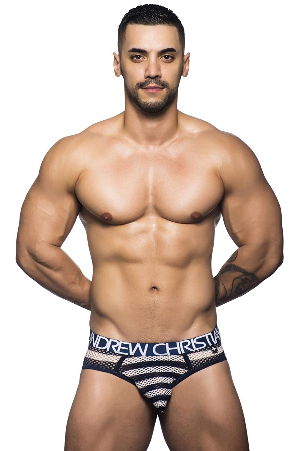 Andrew Christian Nautical Net Brief 90327