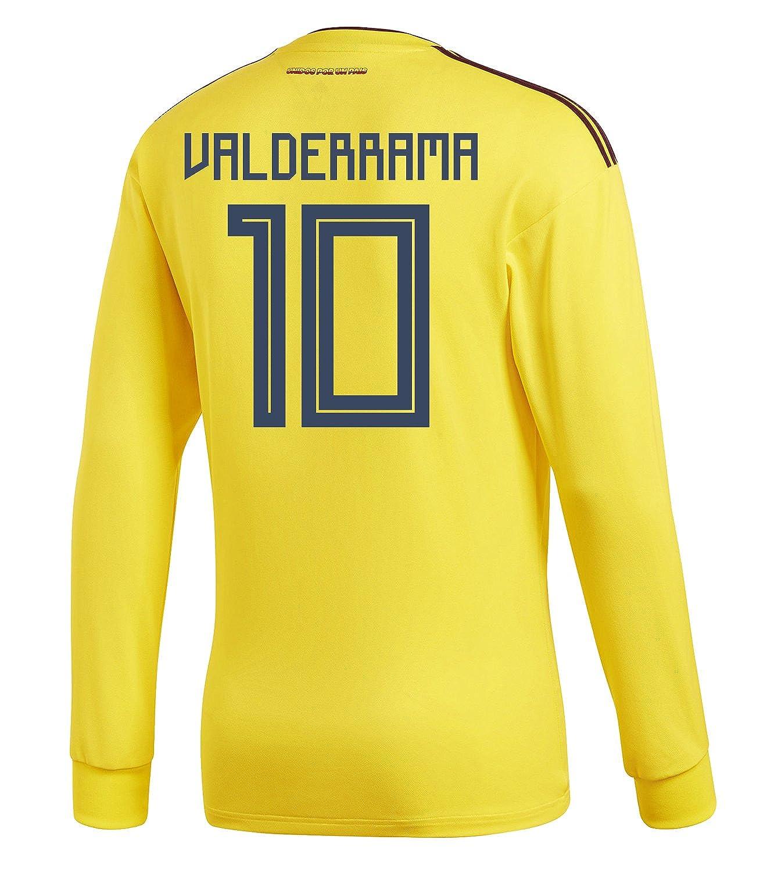 adidas Mens VALDERRAMA #10 Colombia Home Long Sleeve adidas Mens VALDERRAMA Soccer Jersey World Cup 2018/サッカー ユニフォーム バルデラマ 背番号 10 コロンビア ホーム用 長袖 B07BB3X9PB US X-Large, 今立町:df4db229 --- 6530c.xyz