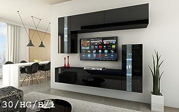 Attraktiv HomeDirectLTD Future 30 Moderne Wohnwand, Exklusive Mediamöbel, TV Schrank,  Schrankwand, TV