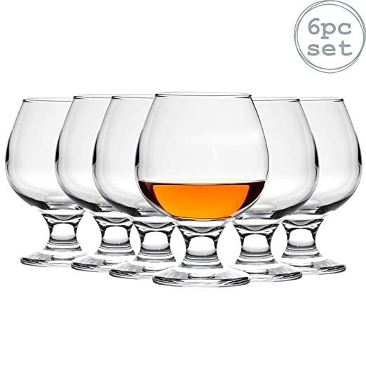 Argon Tableware Copas de balón para Brandy/coñac - 390 ml - Pack ...