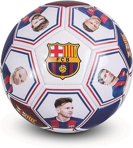 FC Barcelona - Balón oficial - Con firmas y fotos de jugadores ...