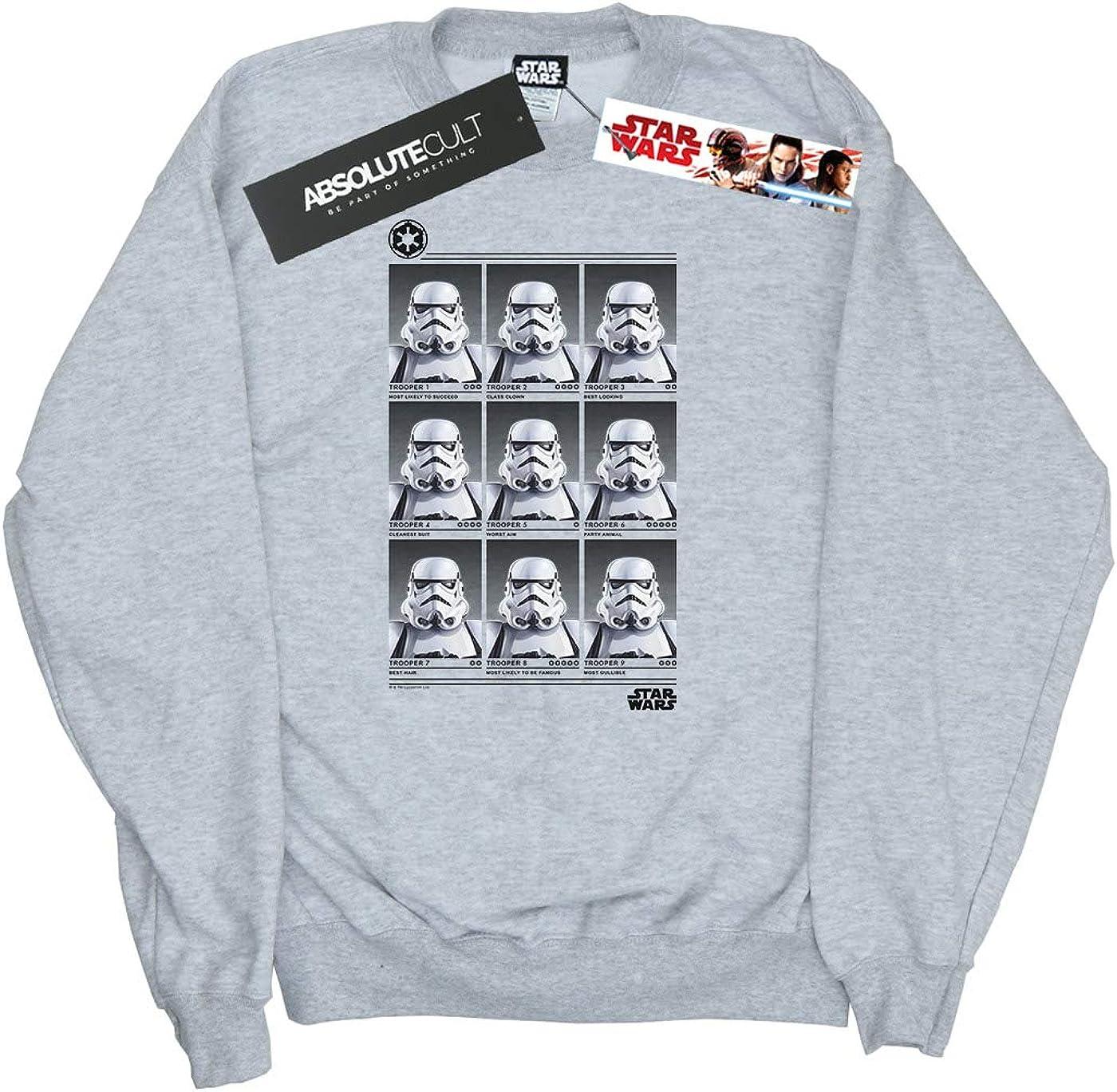 Star Wars Girls Stormtrooper Yearbook Sweatshirt