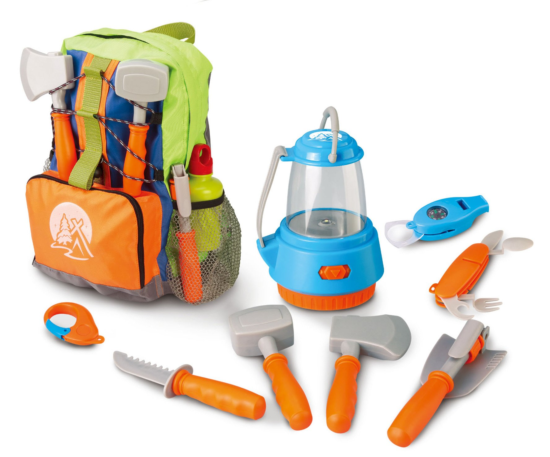 Berry Toys Little Explorer Camping Backpack Play Set (9-Piece)