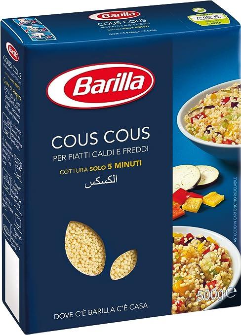 7 opinioni per Barilla- Cous Cous, per Piatti Caldi e Freddi- 500 g