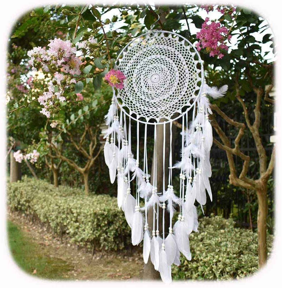 1x Gray Collectible Dreamcatcher Dream Catcher for Wedding Party Decoration