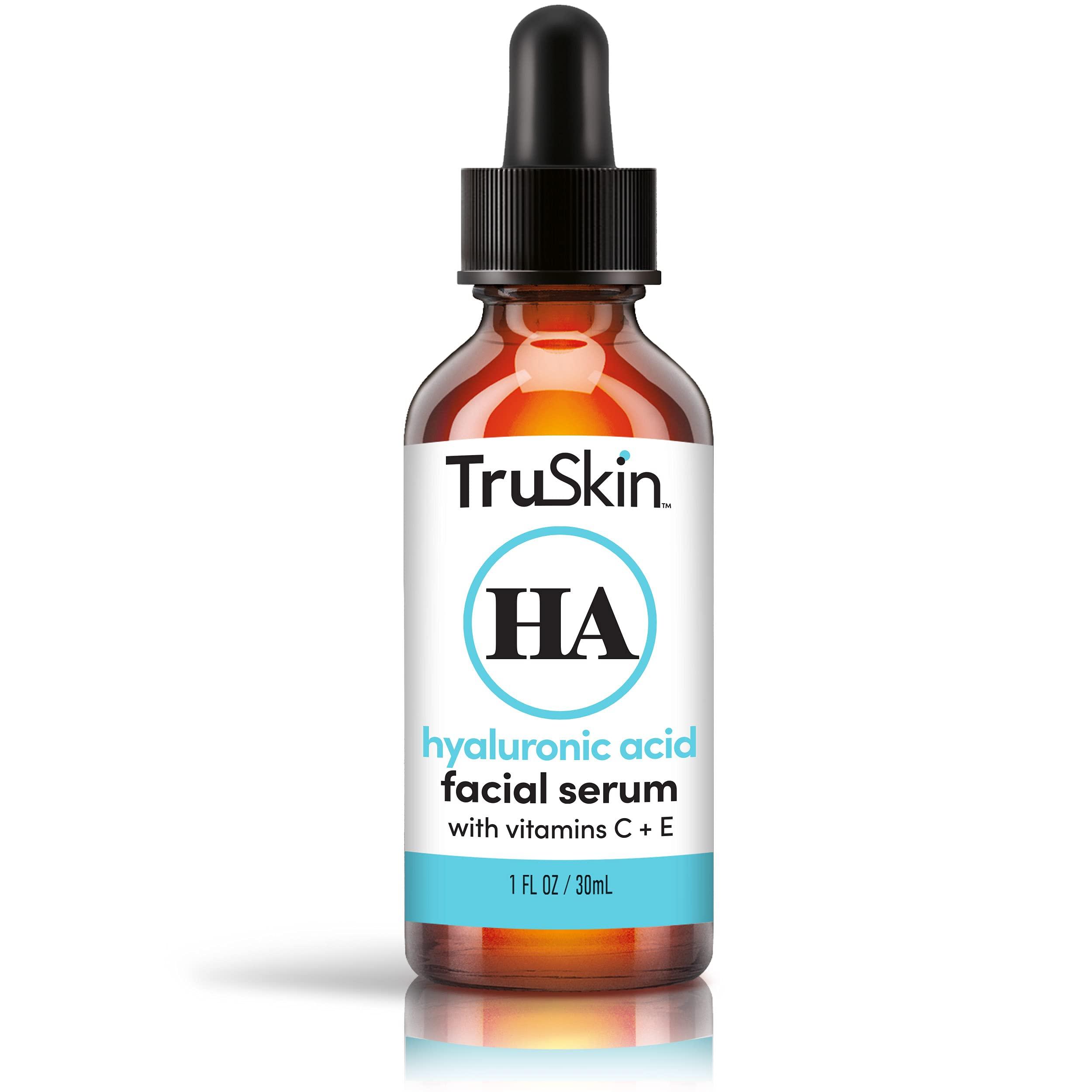 TruSkin Botanical Hyaluronic Acid Hydrating Face Serum, 1 fl oz.