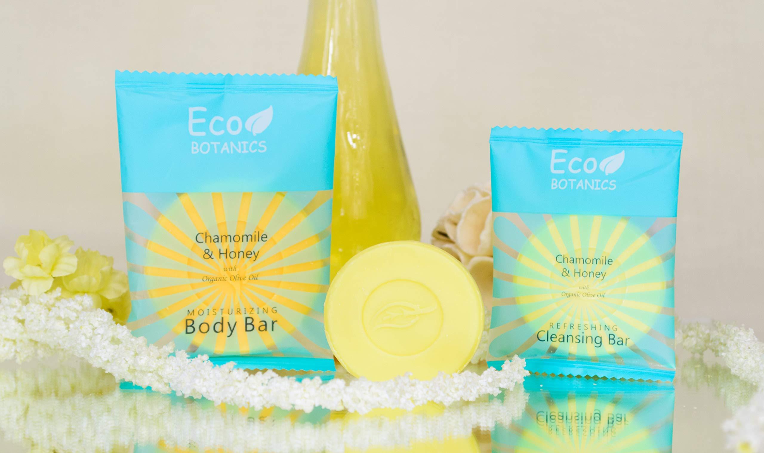 Eco Botanics Travel-Size Hotel Cleansing Bar Soap, .5 oz (Case of 250) by Eco Botanics (Image #5)