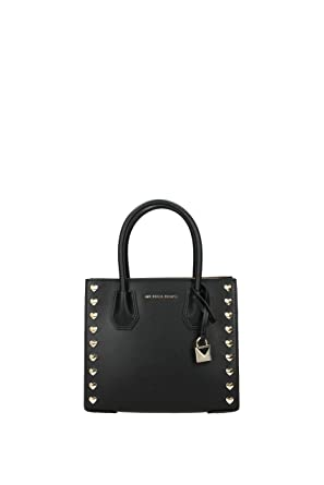 9501c02e6788 Image Unavailable. Image not available for. Color: Michael Kors Mercer  Medium Heart Studded Messenger Bag ...